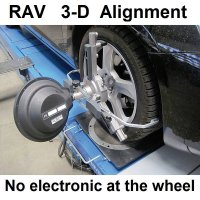 RAV Vistar 3D Wheel Alignment System