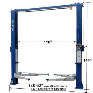Hollstein 11000 Premium 2 Post Lift