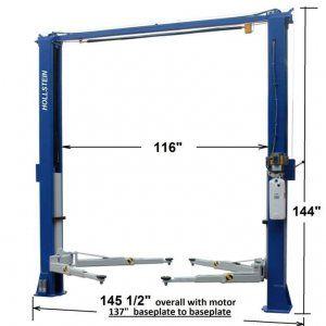 Hollstein 11000 Premium 2 Post Lift
