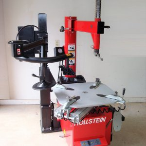 HOLLSTEIN Heavy Duty Tire Changer with Assist Arm