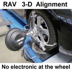 RAV Vistar 3D Wheel Alignment System